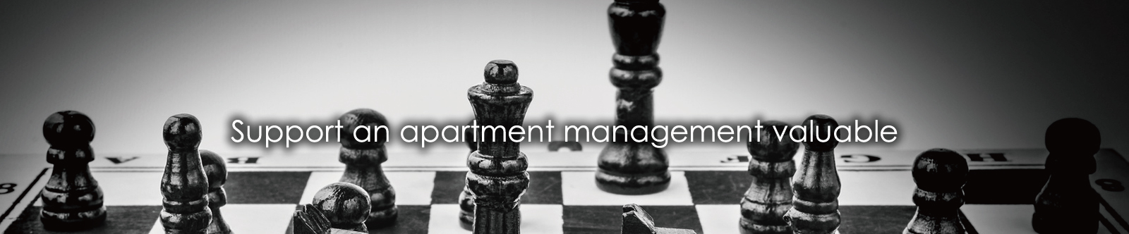 Support an apartment management valuable